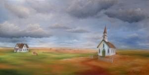 L'Église de la prairie